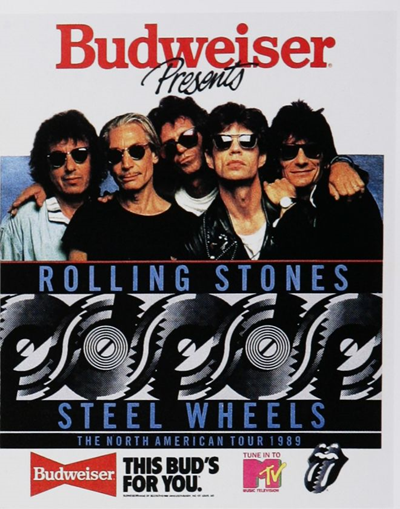 Budweiser Presents Rolling Stones