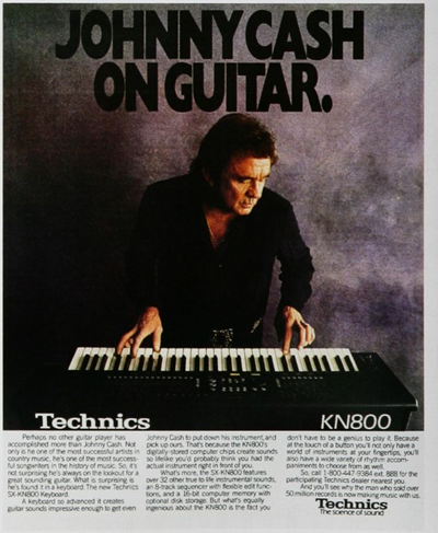 Johnny Cash & Technics