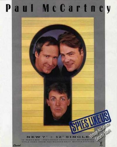 McCartney, Chase and Aykroyd