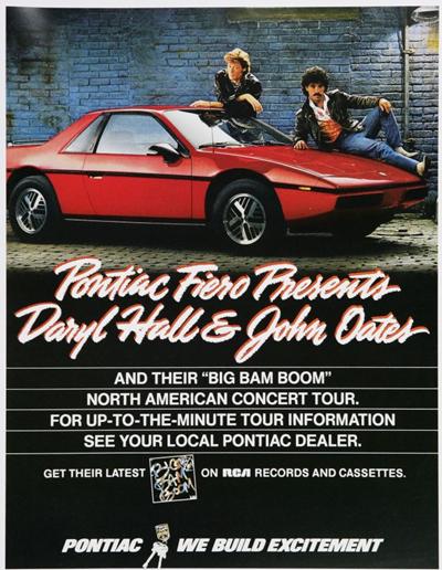 Pontiac, Hall & Oates
